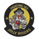 US Navy F-103 Vertical Fighter Squadron F-14 Tomcat Patch JOLLY ROGERS