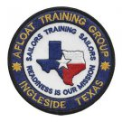 US Navy Afloat Training Group Ingleside Texas Patch