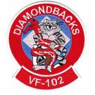 US Navy VF-102 Aviation Fighter Squadron One Zero Two TOMCAT DIAMONDBACKS