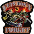 Vets Don't Forget Back Patch 12.5x 13