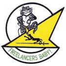 US Navy VF-21 Aviation Fighter Squadron Twenty One Patch FREELANCERS VF-21