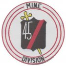 US NAVY 45th Mine Division Military Patch VIETNAM