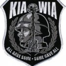 KIA WIA All Gave Some Some Gave All Military Back Patch 10 X 11 inch