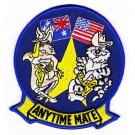 US Navy VF-51 Aviation Fighter Squadron Fifty One Patch TOMCATS ANYTIME MATE