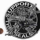 US Navy Seal Support The Seals Large Patch