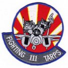 US Navy VF-111 Aviation Tactical Fighter F-14 Tomcat Patch FIGHTING 111 TARPS