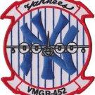 USMC VMGR-452 Marine Aerial Refueler Transport Squadron Yankees Patch