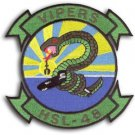 US Navy HSL-48 Patch Helicopter Anti-Submarine Squadron Light Military Patch