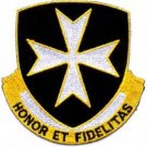 United States ARMY 65th Infantry Regiment Military Patch HONOR ET FIDELITAS