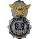 USAF Security Police MP Badge Pin 1'' new