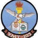 USMC VMT-103 Marine Training Squadron Patch