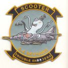 US Navy A-4 SKYHAWK Scooter Trouble Shooters Patch