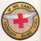 US Army Combat Aviation Brigade 101st Airborne Division Eagle Dustoff Patch Vel