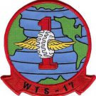 USMC WTS 17th Wing Transportation Squadron Military Patch
