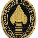 US Army Special Operations Command SOCOM Patch