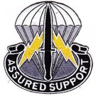 US Army Airborne Special Operations Command Central Support Operations Patch
