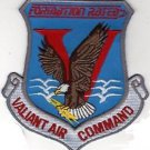 USAF AIR FORCE AF VALIANT AIR COMMAND VAC WARBIRD FORMATION RATED PILOT PATCH