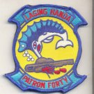 US Navy Patron 40 Fighting Marlin VP-40 Patrol Squadrin Patch