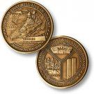 Day of Infamy Bronze Antique 07-41-0755 -September 11 2001 Challenge Coin