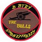US Army 27th Field Artillery Regiment 5th Field Artillery Bn B Battery Patch
