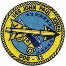 US Navy USS John Paul Jones Patch DDG-32