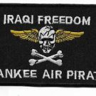 Iraqi Freedom Yankee Air Pirate Military Patch