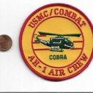 USMC Combat Cobra Helicopter Vietnam Patch