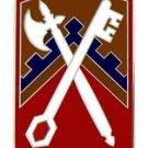 US Army 16th Sustainment Brigade Combat Service Badge  (2 inch)