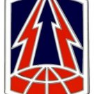 US Army 335th Signal Brigade Combat Service Badge (2 inch)