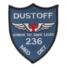 US Army 236th Aviation Medical Detachment Patch