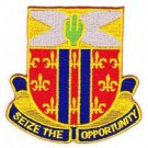 US Army 123rd Cavalry Regiment Patch - SEIZE THE OPPORTUNITY