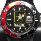 Aquaforce U.S. Army Wristwatch w/ Bezel & Luminous Hands