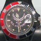 Aquaforce USAF Wristwatch w/ Bezel & Luminous Hands