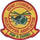 USMC Pop A Smoke Hilicopter Association Combat Patch