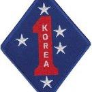 USMC 1st MARDIV Korea Patch