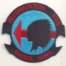US Navy Reconnaissance Attack Squadron 5 RECONATKRON 5 RVAH-5 Savage Sons Patch