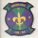 US Navy VR-54 Revelers Fleet Logistics Support Squadron Patch