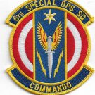 US Army 6th Special Ops SQ Commando Patch