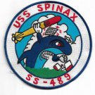US Navy USS Spinax SS-489 Patch #1
