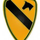 US Army 1st Cavalry Division Combat Service Badge (2 inch)