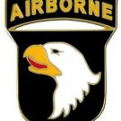 US Army 101st Airborne Division Combat Service Badge(2- 1/16 inch)