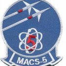 USMC MACS-5 Marine Air Control Squadron Patch