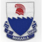 US Army 299th Cavalry Regiment military patch - E MAKAALA KAKOU- LET'S BE ALERT