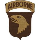 US Army 101st Airborne Desert Storm Patch