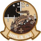 USMC HMLA Marine Light Attack Helicopter Squadron Patch Desert Warriors