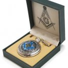 Masonic Alter Pocket Watch Silver in color