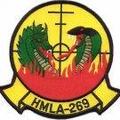 USMC HMLA-269 Marine Light Attack Helicopter Squadron Patch