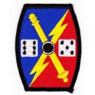 US Army 65th Field Artillery Fire Brigade Military Patch DICE
