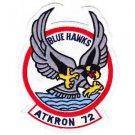 US Navy VA-72 Aviation Strike Attack Squadron Seventy Two Patch BLUE HAWKS ATKRO
