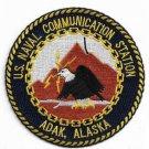 US Navy Communication Station Adak Alaska Patch